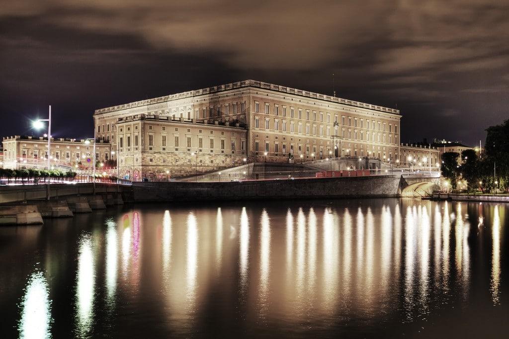 palais royal à Stockholm