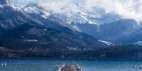 Le lac d'Annecy et ses montagnes