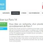 Avez-vous besoin d'un plombier sur Paris 14 ?