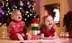 La joie des enfants à Noël