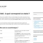 Pourquoi choisir le statut de SAS pour son entreprise ?