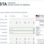 Où obtenir votre ESTA USA par Internet?