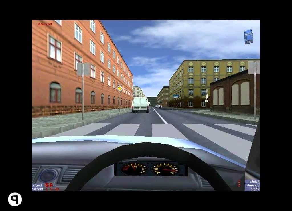 Logiciel pour simulateur de conduite