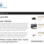 Quelles sont les caractéristiques des imprimantes WiFi?