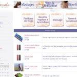 Où trouver en ligne des produits de massage et de yoga?