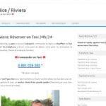 Quel est le meilleur service de réservation de taxi Nice Riviera?