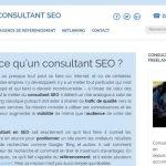 Quel consultant SEO consulter pour son site web ?