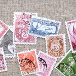 L'origine du timbre postal