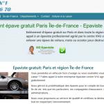 Quelle est la société idéale pour l'enlèvement des épaves à Paris ?