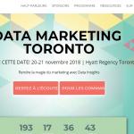 Où retrouver toutes les informations sur la conférence Datamarketing ?