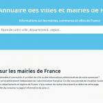 Où trouver des informations sur les mairies de France ?