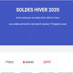 Que savoir sur les soldes d'hiver2020 en France?