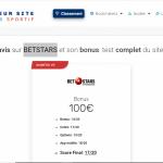 BETSTARS offre-t-il le meilleur bonus sur le marché?