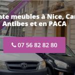 Auprès de quelle structure louer un monte-meuble à Nice ?