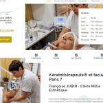Quel est l'institut de beauté spécialisé en kératopraxie à Paris 7 ?